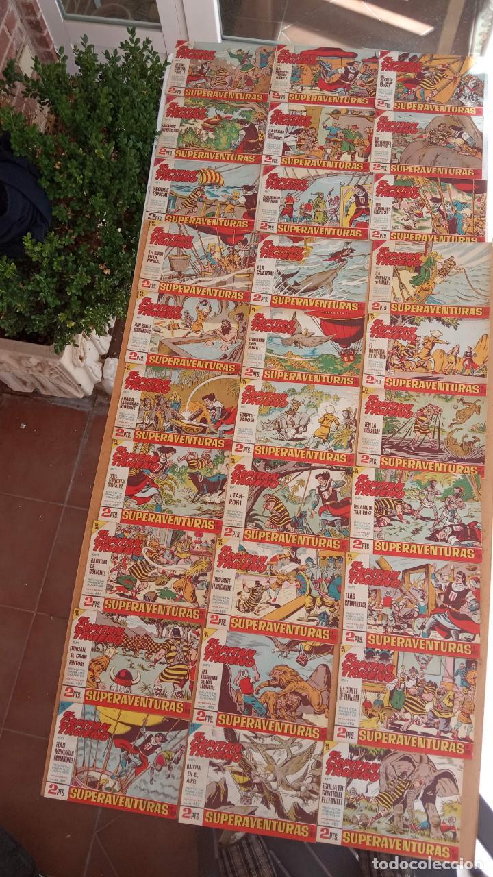 Tebeos: EL CAPITÀN TRUENO ORIGINAL AÑO 1956 COMPLETA Y SUELTA 1 AL 618 - VER TODAS LAS PORTADAS, MUY BUENA - Foto 218 - 204841075
