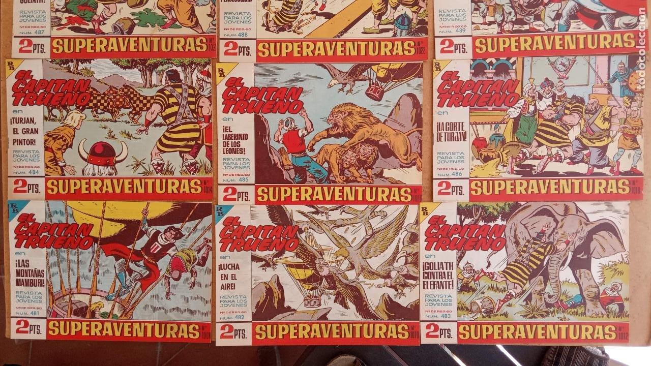 Tebeos: EL CAPITÀN TRUENO ORIGINAL AÑO 1956 COMPLETA Y SUELTA 1 AL 618 - VER TODAS LAS PORTADAS, MUY BUENA - Foto 219 - 204841075