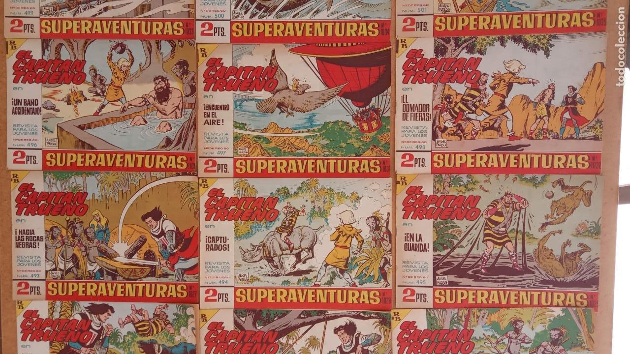 Tebeos: EL CAPITÀN TRUENO ORIGINAL AÑO 1956 COMPLETA Y SUELTA 1 AL 618 - VER TODAS LAS PORTADAS, MUY BUENA - Foto 221 - 204841075