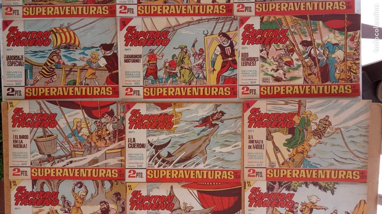 Tebeos: EL CAPITÀN TRUENO ORIGINAL AÑO 1956 COMPLETA Y SUELTA 1 AL 618 - VER TODAS LAS PORTADAS, MUY BUENA - Foto 222 - 204841075