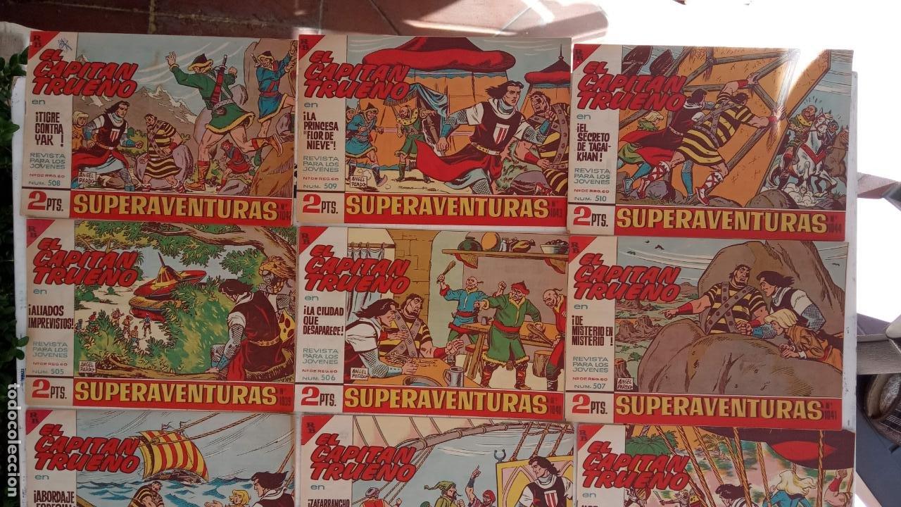 Tebeos: EL CAPITÀN TRUENO ORIGINAL AÑO 1956 COMPLETA Y SUELTA 1 AL 618 - VER TODAS LAS PORTADAS, MUY BUENA - Foto 223 - 204841075