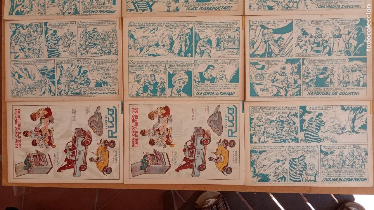 Tebeos: EL CAPITÀN TRUENO ORIGINAL AÑO 1956 COMPLETA Y SUELTA 1 AL 618 - VER TODAS LAS PORTADAS, MUY BUENA - Foto 225 - 204841075