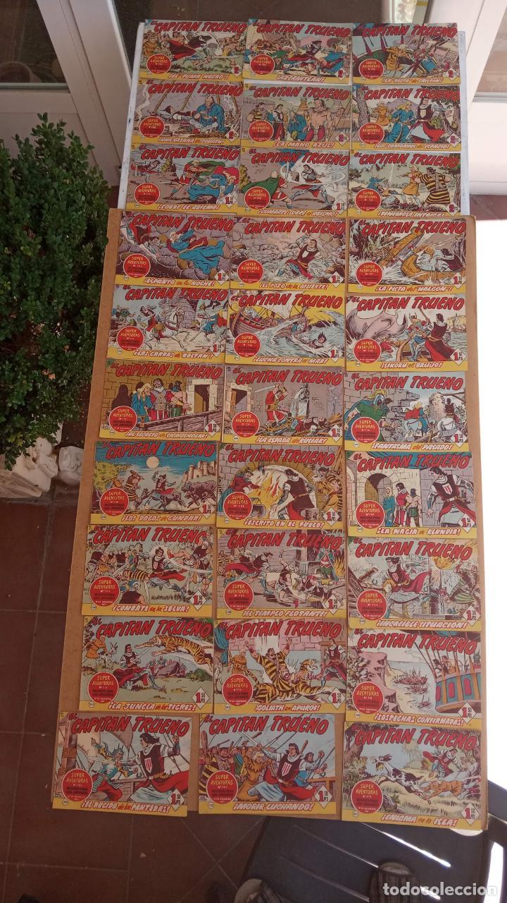 Tebeos: EL CAPITÀN TRUENO ORIGINAL AÑO 1956 COMPLETA Y SUELTA 1 AL 618 - VER TODAS LAS PORTADAS, MUY BUENA - Foto 226 - 204841075