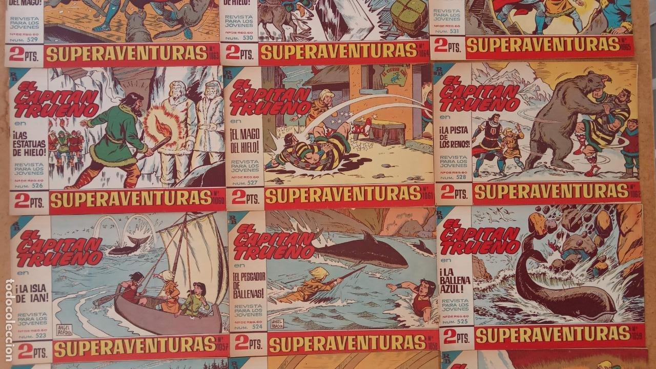 Tebeos: EL CAPITÀN TRUENO ORIGINAL AÑO 1956 COMPLETA Y SUELTA 1 AL 618 - VER TODAS LAS PORTADAS, MUY BUENA - Foto 235 - 204841075