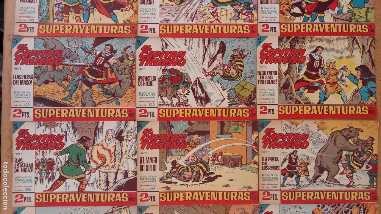 Tebeos: EL CAPITÀN TRUENO ORIGINAL AÑO 1956 COMPLETA Y SUELTA 1 AL 618 - VER TODAS LAS PORTADAS, MUY BUENA - Foto 236 - 204841075