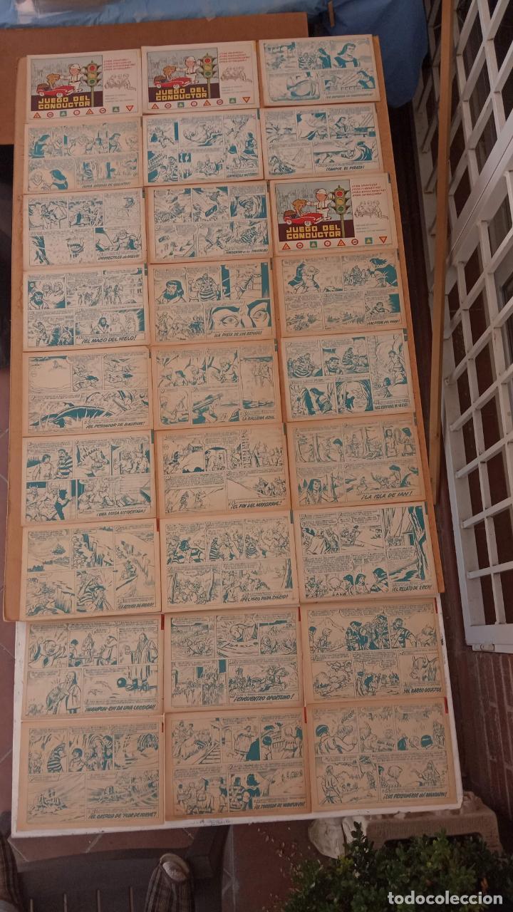 Tebeos: EL CAPITÀN TRUENO ORIGINAL AÑO 1956 COMPLETA Y SUELTA 1 AL 618 - VER TODAS LAS PORTADAS, MUY BUENA - Foto 238 - 204841075