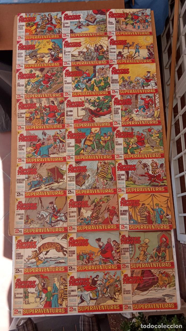Tebeos: EL CAPITÀN TRUENO ORIGINAL AÑO 1956 COMPLETA Y SUELTA 1 AL 618 - VER TODAS LAS PORTADAS, MUY BUENA - Foto 244 - 204841075