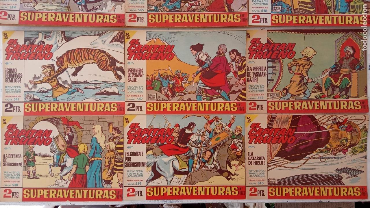 Tebeos: EL CAPITÀN TRUENO ORIGINAL AÑO 1956 COMPLETA Y SUELTA 1 AL 618 - VER TODAS LAS PORTADAS, MUY BUENA - Foto 245 - 204841075