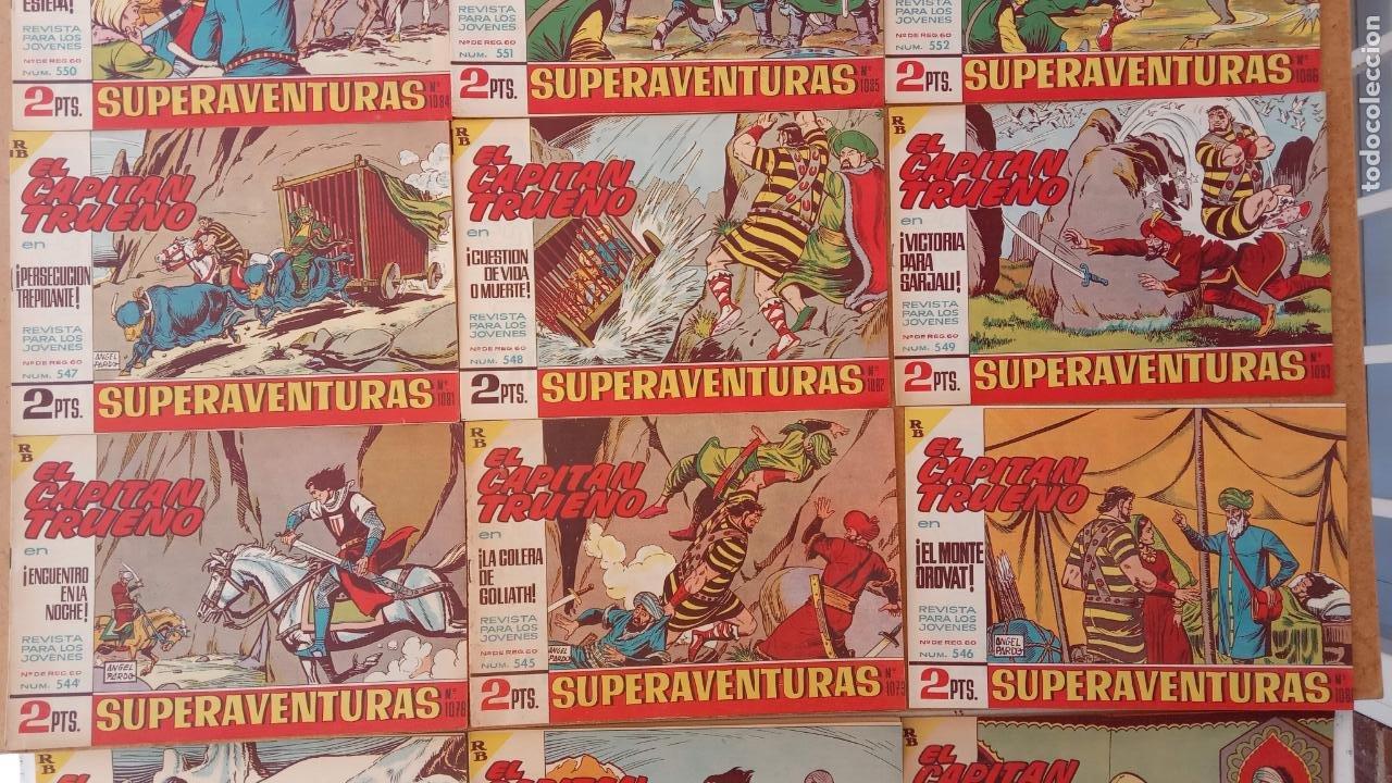 Tebeos: EL CAPITÀN TRUENO ORIGINAL AÑO 1956 COMPLETA Y SUELTA 1 AL 618 - VER TODAS LAS PORTADAS, MUY BUENA - Foto 246 - 204841075