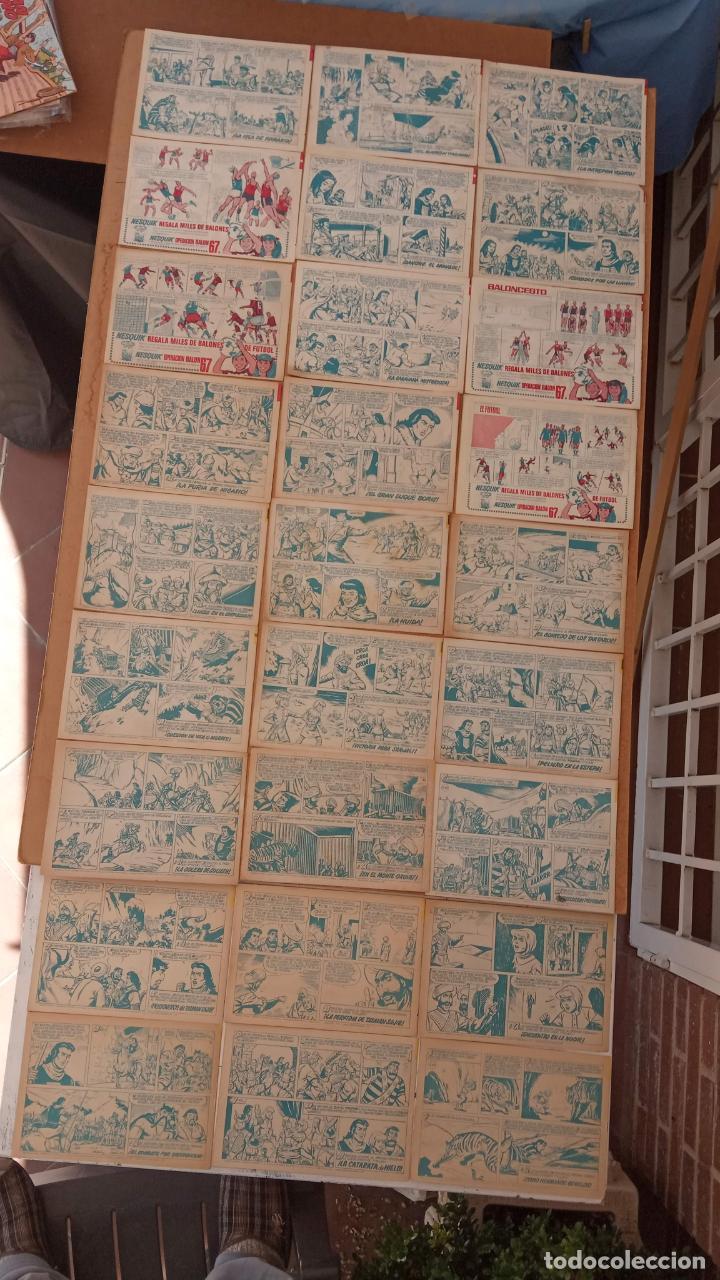 Tebeos: EL CAPITÀN TRUENO ORIGINAL AÑO 1956 COMPLETA Y SUELTA 1 AL 618 - VER TODAS LAS PORTADAS, MUY BUENA - Foto 250 - 204841075