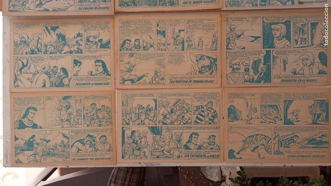 Tebeos: EL CAPITÀN TRUENO ORIGINAL AÑO 1956 COMPLETA Y SUELTA 1 AL 618 - VER TODAS LAS PORTADAS, MUY BUENA - Foto 251 - 204841075