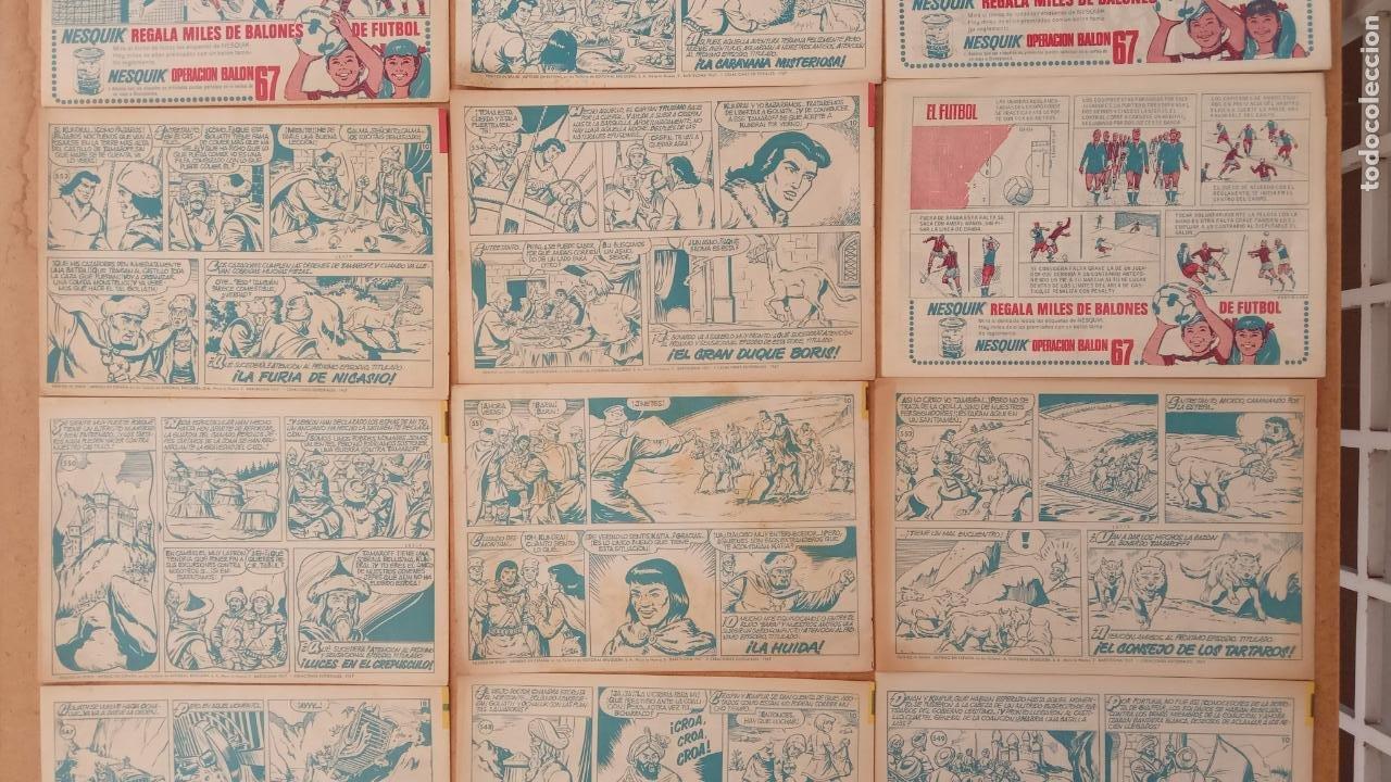 Tebeos: EL CAPITÀN TRUENO ORIGINAL AÑO 1956 COMPLETA Y SUELTA 1 AL 618 - VER TODAS LAS PORTADAS, MUY BUENA - Foto 252 - 204841075