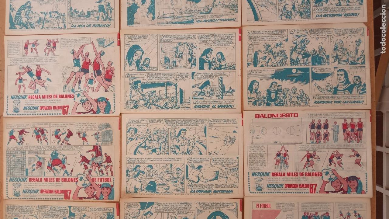 Tebeos: EL CAPITÀN TRUENO ORIGINAL AÑO 1956 COMPLETA Y SUELTA 1 AL 618 - VER TODAS LAS PORTADAS, MUY BUENA - Foto 253 - 204841075
