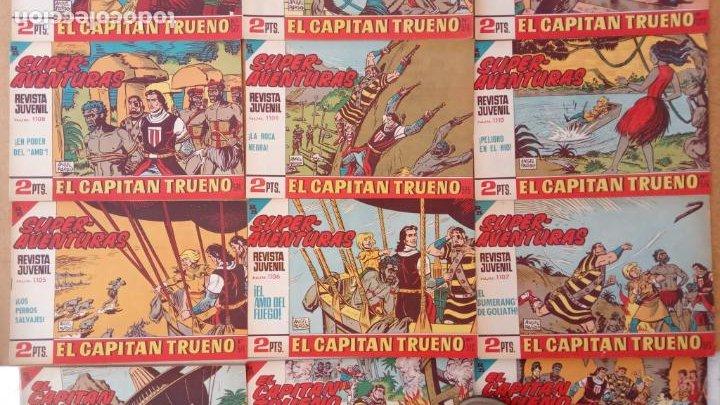 Tebeos: EL CAPITÀN TRUENO ORIGINAL AÑO 1956 COMPLETA Y SUELTA 1 AL 618 - VER TODAS LAS PORTADAS, MUY BUENA - Foto 257 - 204841075