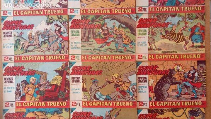 Tebeos: EL CAPITÀN TRUENO ORIGINAL AÑO 1956 COMPLETA Y SUELTA 1 AL 618 - VER TODAS LAS PORTADAS, MUY BUENA - Foto 258 - 204841075