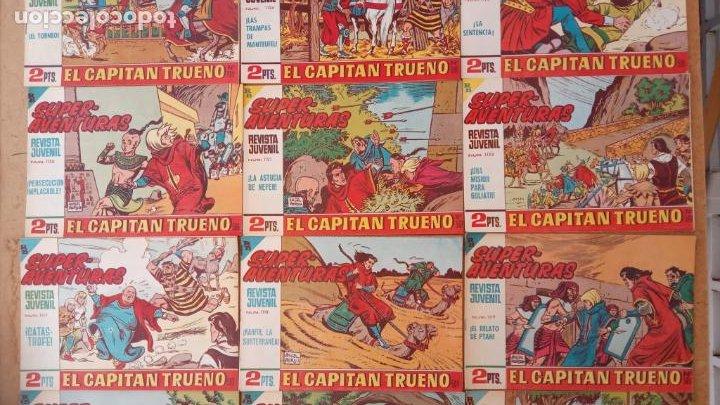 Tebeos: EL CAPITÀN TRUENO ORIGINAL AÑO 1956 COMPLETA Y SUELTA 1 AL 618 - VER TODAS LAS PORTADAS, MUY BUENA - Foto 259 - 204841075