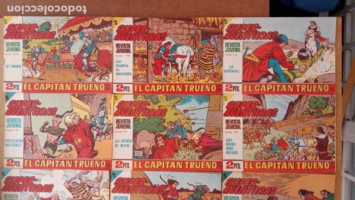 Tebeos: EL CAPITÀN TRUENO ORIGINAL AÑO 1956 COMPLETA Y SUELTA 1 AL 618 - VER TODAS LAS PORTADAS, MUY BUENA - Foto 260 - 204841075