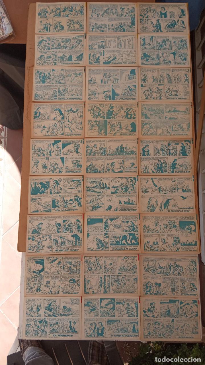 Tebeos: EL CAPITÀN TRUENO ORIGINAL AÑO 1956 COMPLETA Y SUELTA 1 AL 618 - VER TODAS LAS PORTADAS, MUY BUENA - Foto 261 - 204841075