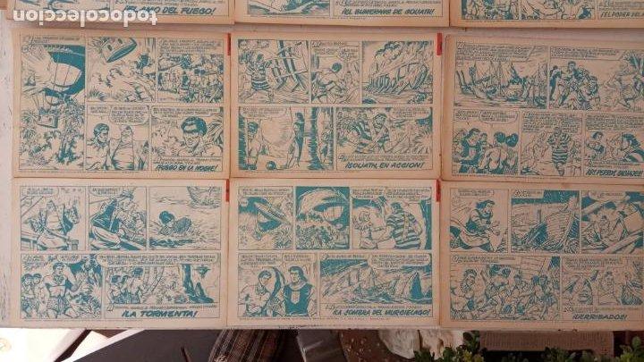 Tebeos: EL CAPITÀN TRUENO ORIGINAL AÑO 1956 COMPLETA Y SUELTA 1 AL 618 - VER TODAS LAS PORTADAS, MUY BUENA - Foto 262 - 204841075