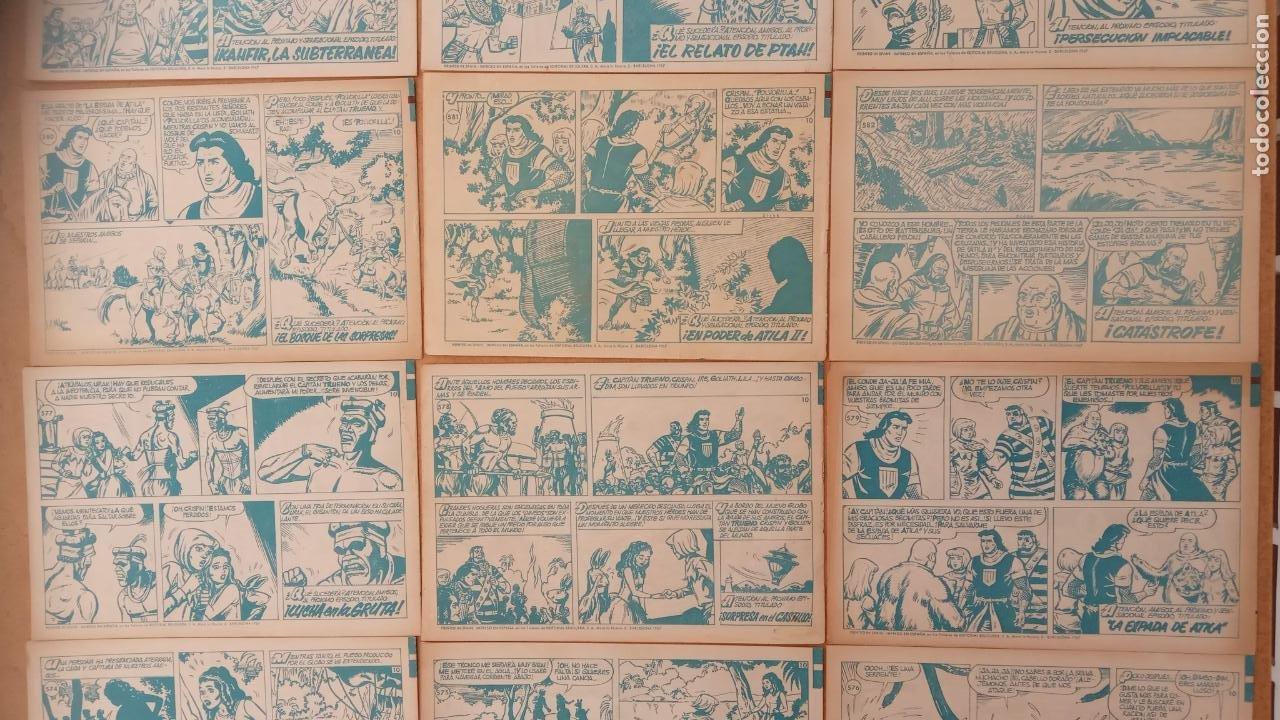 Tebeos: EL CAPITÀN TRUENO ORIGINAL AÑO 1956 COMPLETA Y SUELTA 1 AL 618 - VER TODAS LAS PORTADAS, MUY BUENA - Foto 263 - 204841075