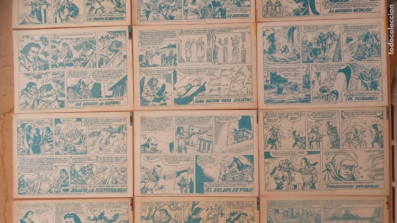 Tebeos: EL CAPITÀN TRUENO ORIGINAL AÑO 1956 COMPLETA Y SUELTA 1 AL 618 - VER TODAS LAS PORTADAS, MUY BUENA - Foto 264 - 204841075