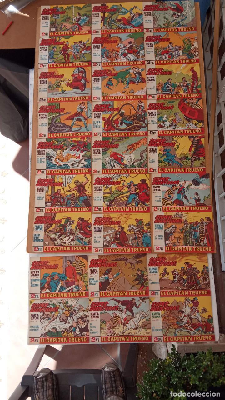 Tebeos: EL CAPITÀN TRUENO ORIGINAL AÑO 1956 COMPLETA Y SUELTA 1 AL 618 - VER TODAS LAS PORTADAS, MUY BUENA - Foto 267 - 204841075