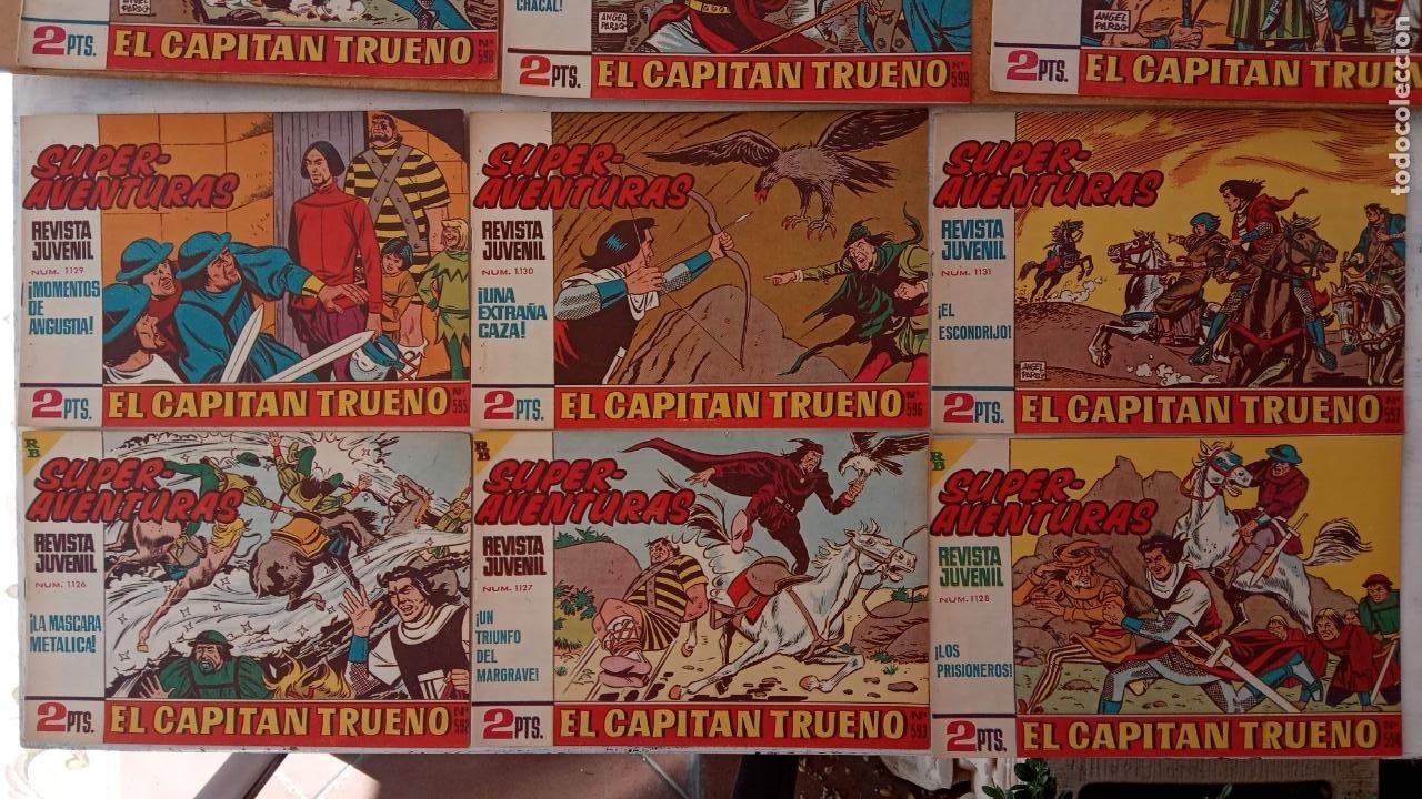 Tebeos: EL CAPITÀN TRUENO ORIGINAL AÑO 1956 COMPLETA Y SUELTA 1 AL 618 - VER TODAS LAS PORTADAS, MUY BUENA - Foto 268 - 204841075