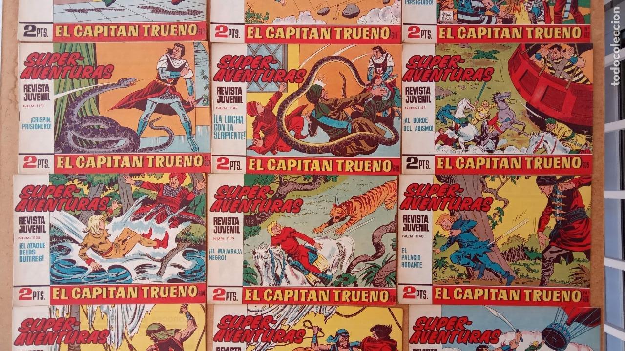 Tebeos: EL CAPITÀN TRUENO ORIGINAL AÑO 1956 COMPLETA Y SUELTA 1 AL 618 - VER TODAS LAS PORTADAS, MUY BUENA - Foto 272 - 204841075
