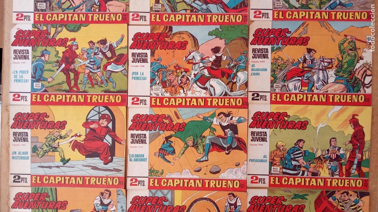 Tebeos: EL CAPITÀN TRUENO ORIGINAL AÑO 1956 COMPLETA Y SUELTA 1 AL 618 - VER TODAS LAS PORTADAS, MUY BUENA - Foto 273 - 204841075