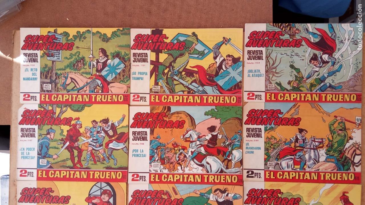 Tebeos: EL CAPITÀN TRUENO ORIGINAL AÑO 1956 COMPLETA Y SUELTA 1 AL 618 - VER TODAS LAS PORTADAS, MUY BUENA - Foto 274 - 204841075