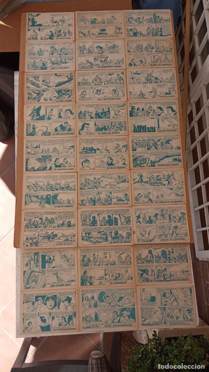 Tebeos: EL CAPITÀN TRUENO ORIGINAL AÑO 1956 COMPLETA Y SUELTA 1 AL 618 - VER TODAS LAS PORTADAS, MUY BUENA - Foto 275 - 204841075