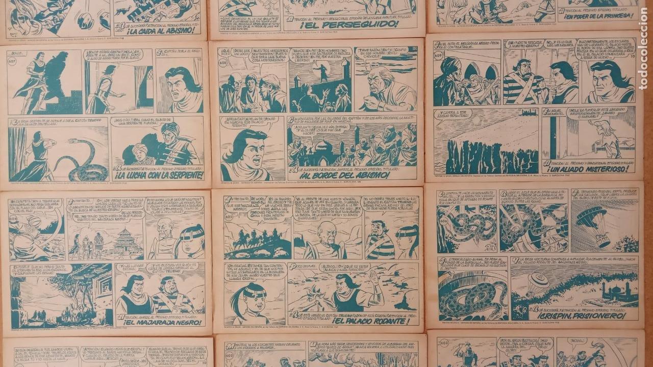Tebeos: EL CAPITÀN TRUENO ORIGINAL AÑO 1956 COMPLETA Y SUELTA 1 AL 618 - VER TODAS LAS PORTADAS, MUY BUENA - Foto 279 - 204841075