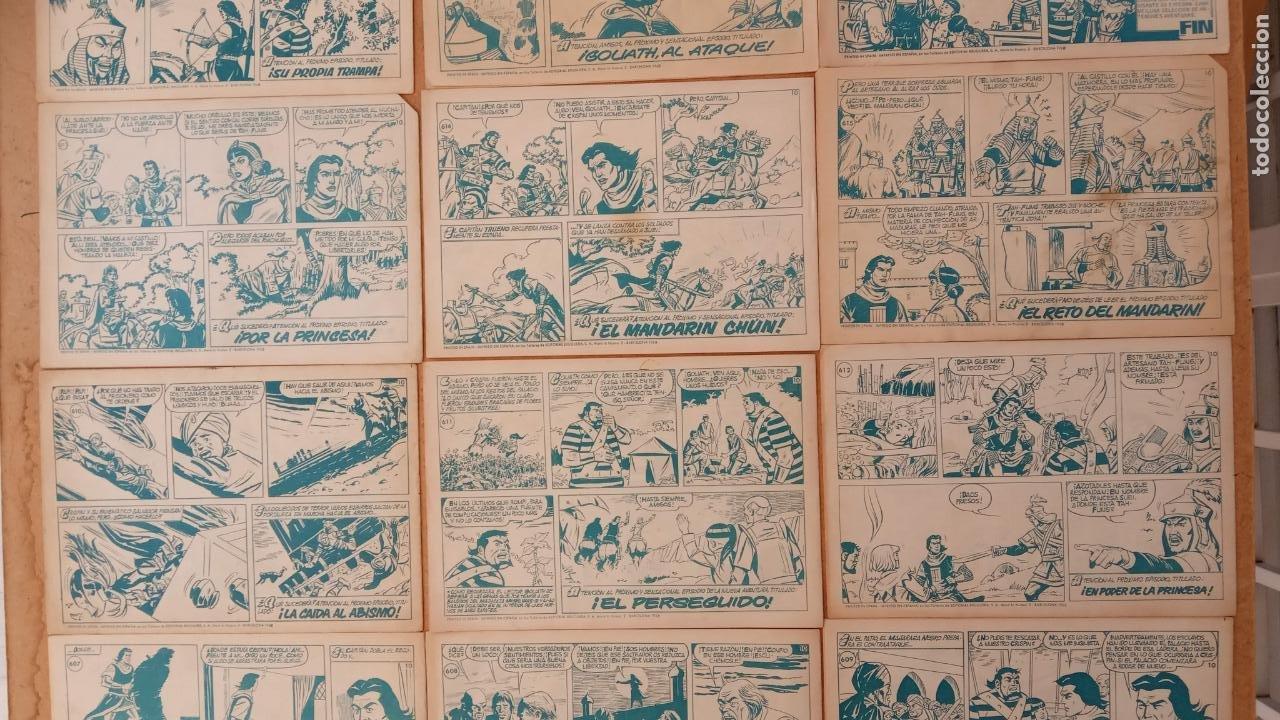 Tebeos: EL CAPITÀN TRUENO ORIGINAL AÑO 1956 COMPLETA Y SUELTA 1 AL 618 - VER TODAS LAS PORTADAS, MUY BUENA - Foto 280 - 204841075