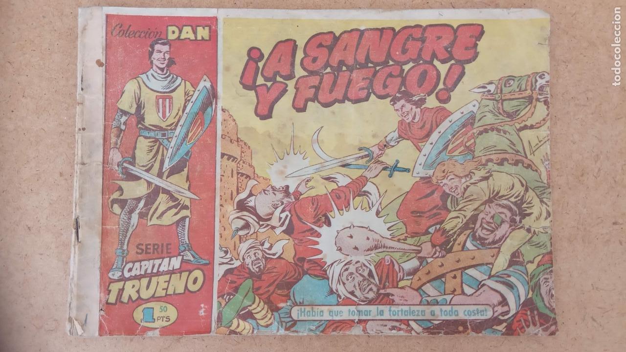 Tebeos: EL CAPITÀN TRUENO ORIGINAL AÑO 1956 COMPLETA Y SUELTA 1 AL 618 - VER TODAS LAS PORTADAS, MUY BUENA - Foto 282 - 204841075