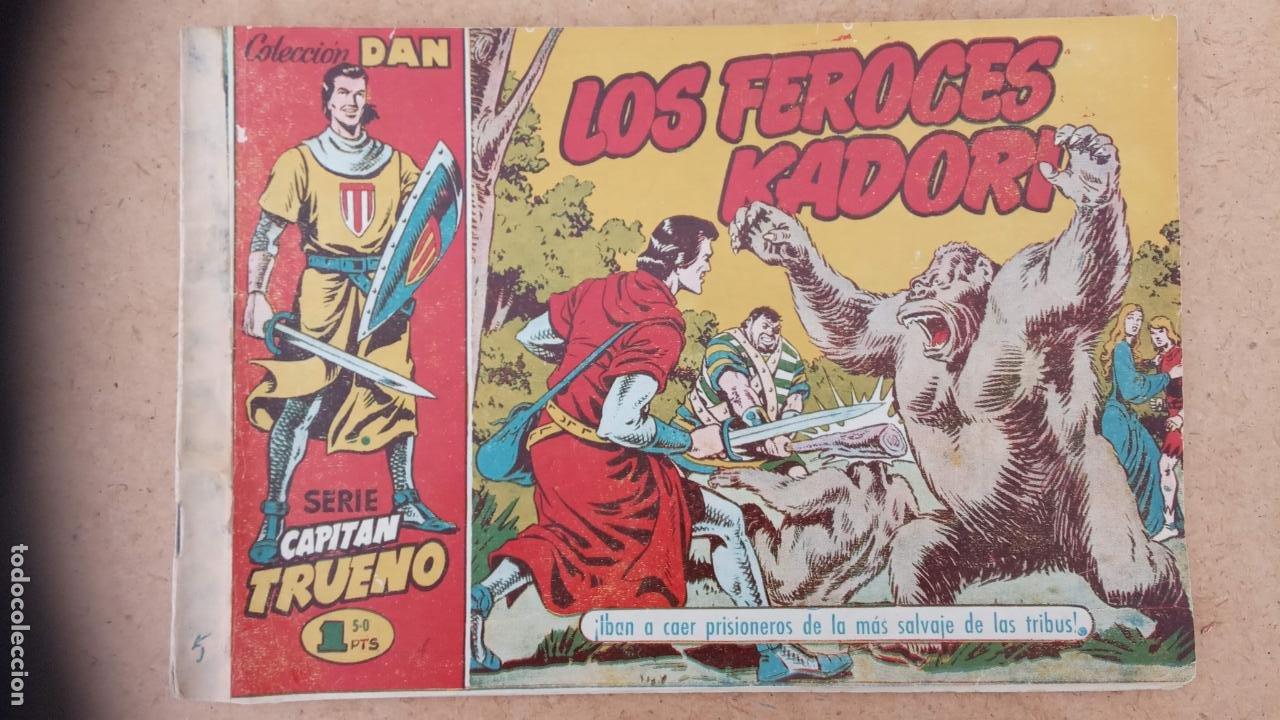 Tebeos: EL CAPITÀN TRUENO ORIGINAL AÑO 1956 COMPLETA Y SUELTA 1 AL 618 - VER TODAS LAS PORTADAS, MUY BUENA - Foto 290 - 204841075
