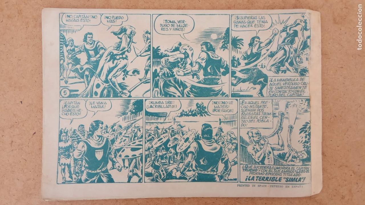 Tebeos: EL CAPITÀN TRUENO ORIGINAL AÑO 1956 COMPLETA Y SUELTA 1 AL 618 - VER TODAS LAS PORTADAS, MUY BUENA - Foto 291 - 204841075