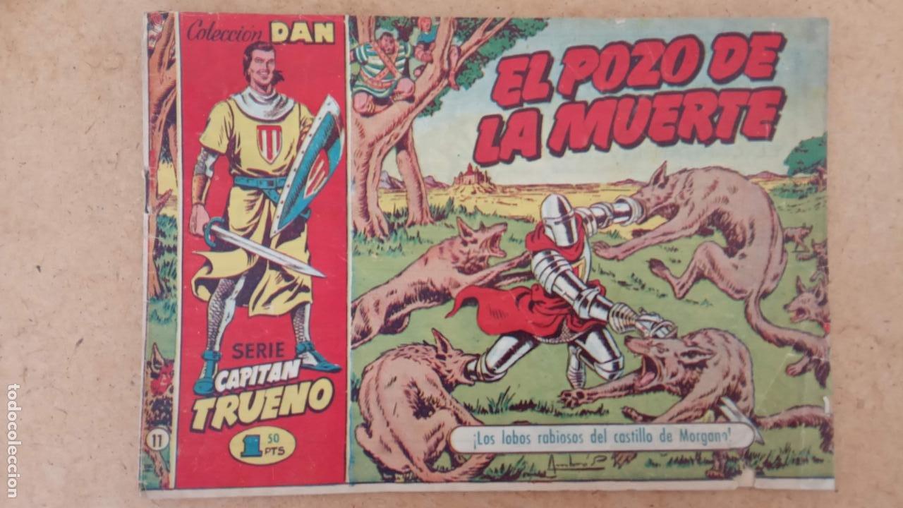 Tebeos: EL CAPITÀN TRUENO ORIGINAL AÑO 1956 COMPLETA Y SUELTA 1 AL 618 - VER TODAS LAS PORTADAS, MUY BUENA - Foto 297 - 204841075