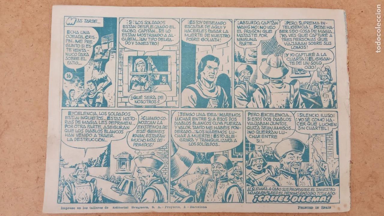 Tebeos: EL CAPITÀN TRUENO ORIGINAL AÑO 1956 COMPLETA Y SUELTA 1 AL 618 - VER TODAS LAS PORTADAS, MUY BUENA - Foto 305 - 204841075