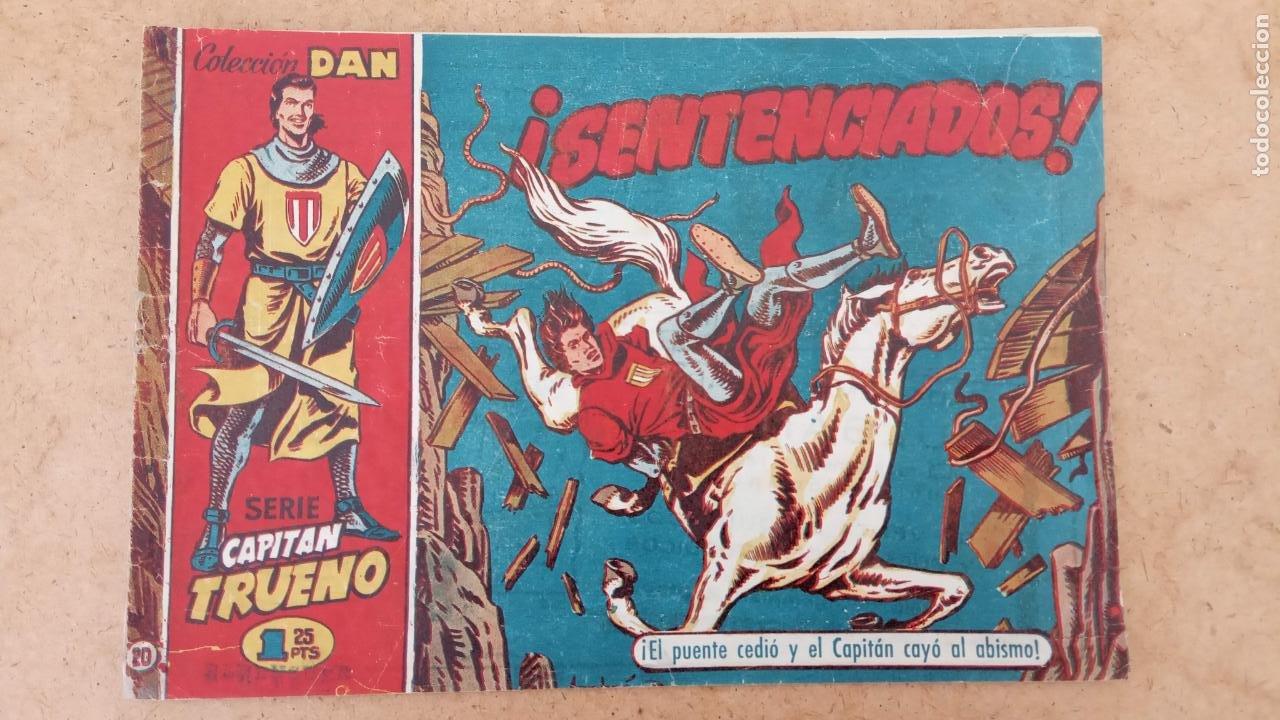 Tebeos: EL CAPITÀN TRUENO ORIGINAL AÑO 1956 COMPLETA Y SUELTA 1 AL 618 - VER TODAS LAS PORTADAS, MUY BUENA - Foto 310 - 204841075
