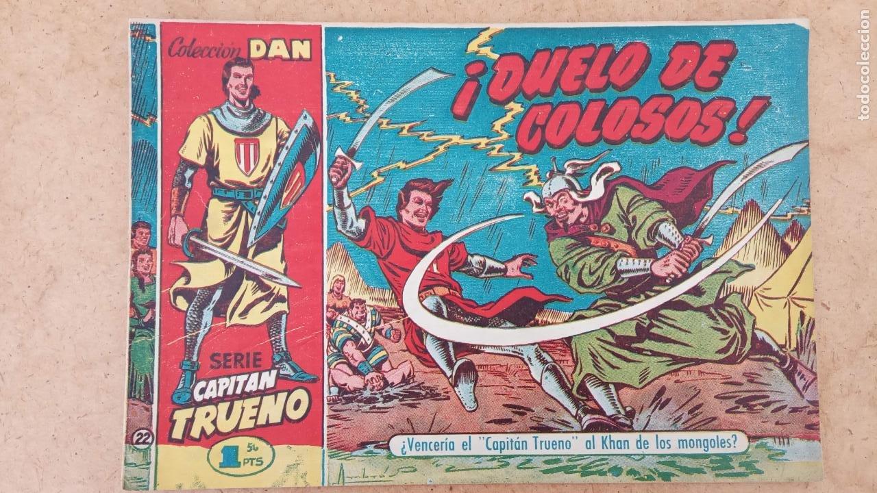 Tebeos: EL CAPITÀN TRUENO ORIGINAL AÑO 1956 COMPLETA Y SUELTA 1 AL 618 - VER TODAS LAS PORTADAS, MUY BUENA - Foto 312 - 204841075
