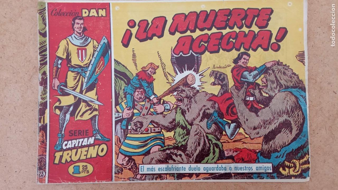 Tebeos: EL CAPITÀN TRUENO ORIGINAL AÑO 1956 COMPLETA Y SUELTA 1 AL 618 - VER TODAS LAS PORTADAS, MUY BUENA - Foto 313 - 204841075