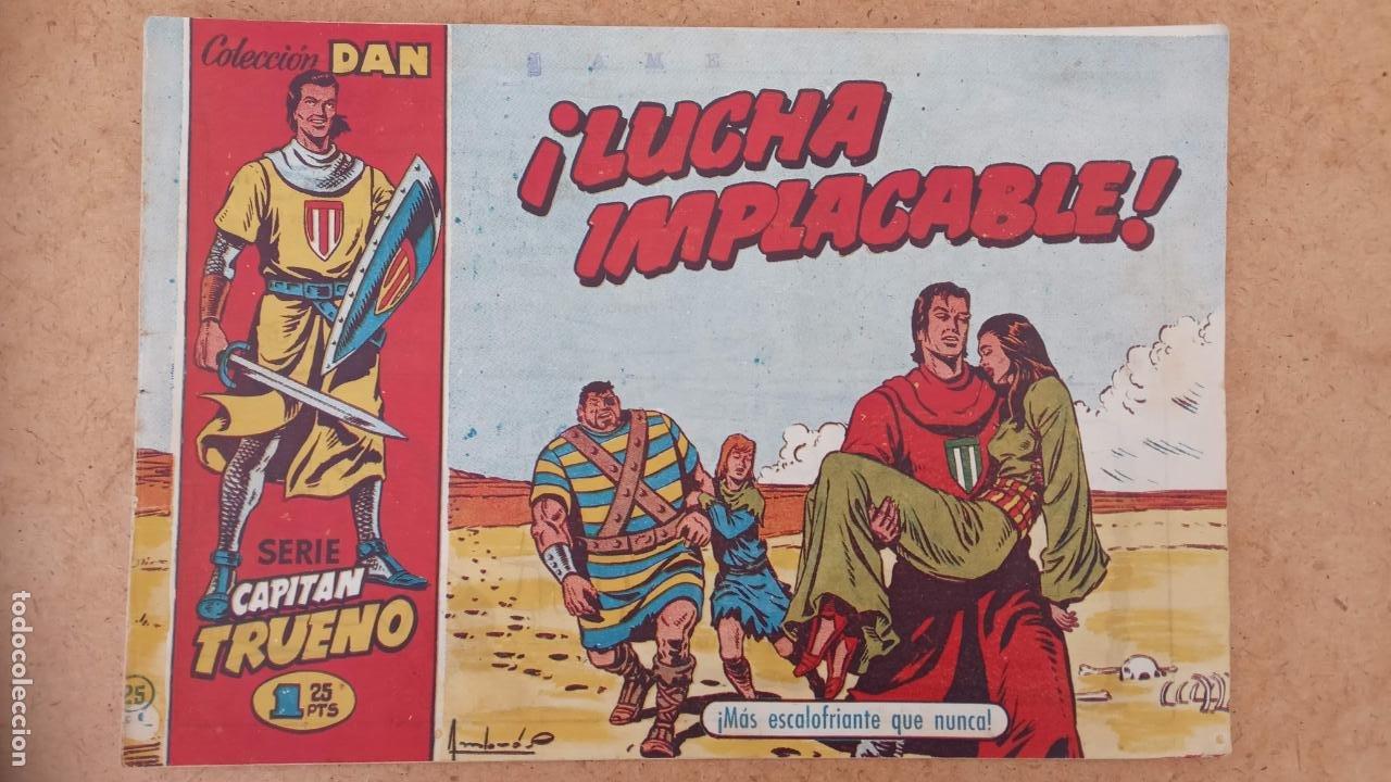 Tebeos: EL CAPITÀN TRUENO ORIGINAL AÑO 1956 COMPLETA Y SUELTA 1 AL 618 - VER TODAS LAS PORTADAS, MUY BUENA - Foto 315 - 204841075