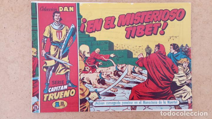 Tebeos: EL CAPITÀN TRUENO ORIGINAL AÑO 1956 COMPLETA Y SUELTA 1 AL 618 - VER TODAS LAS PORTADAS, MUY BUENA - Foto 316 - 204841075