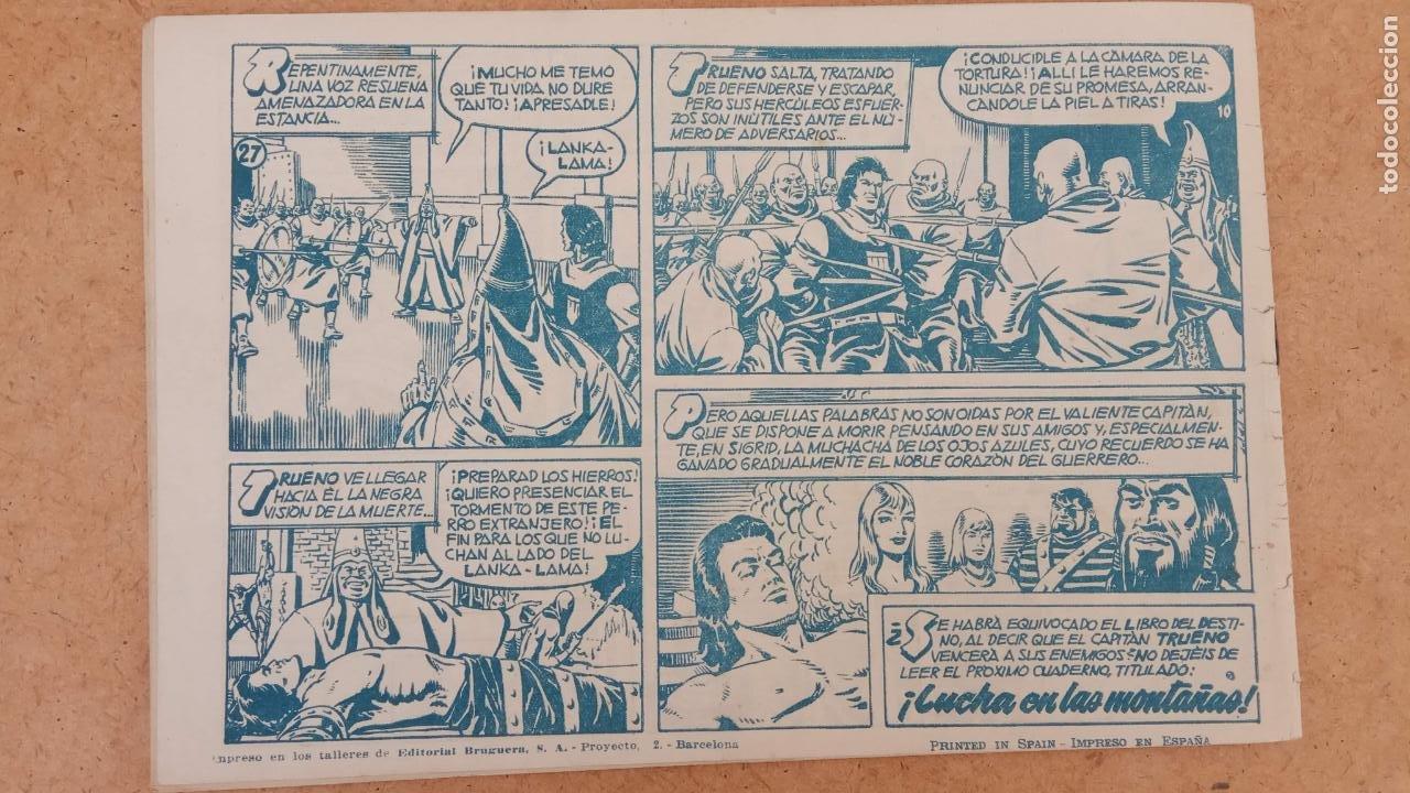 Tebeos: EL CAPITÀN TRUENO ORIGINAL AÑO 1956 COMPLETA Y SUELTA 1 AL 618 - VER TODAS LAS PORTADAS, MUY BUENA - Foto 318 - 204841075