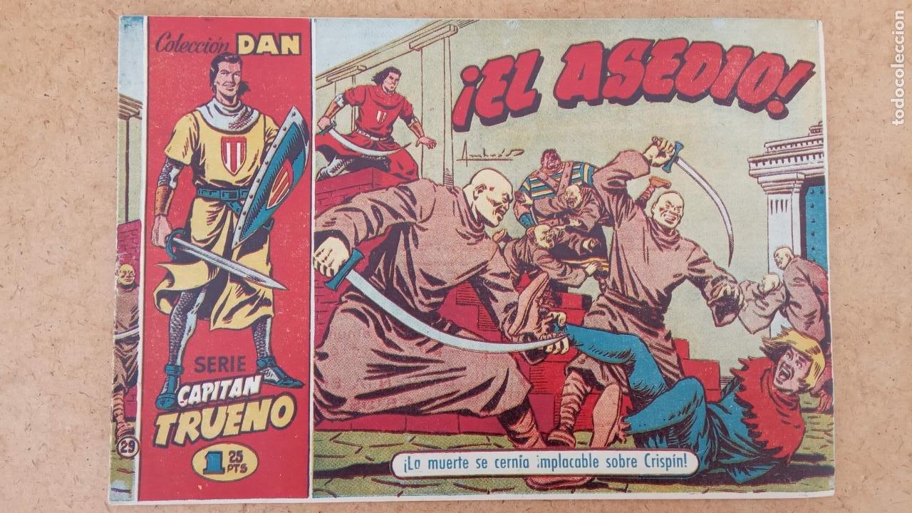 Tebeos: EL CAPITÀN TRUENO ORIGINAL AÑO 1956 COMPLETA Y SUELTA 1 AL 618 - VER TODAS LAS PORTADAS, MUY BUENA - Foto 319 - 204841075