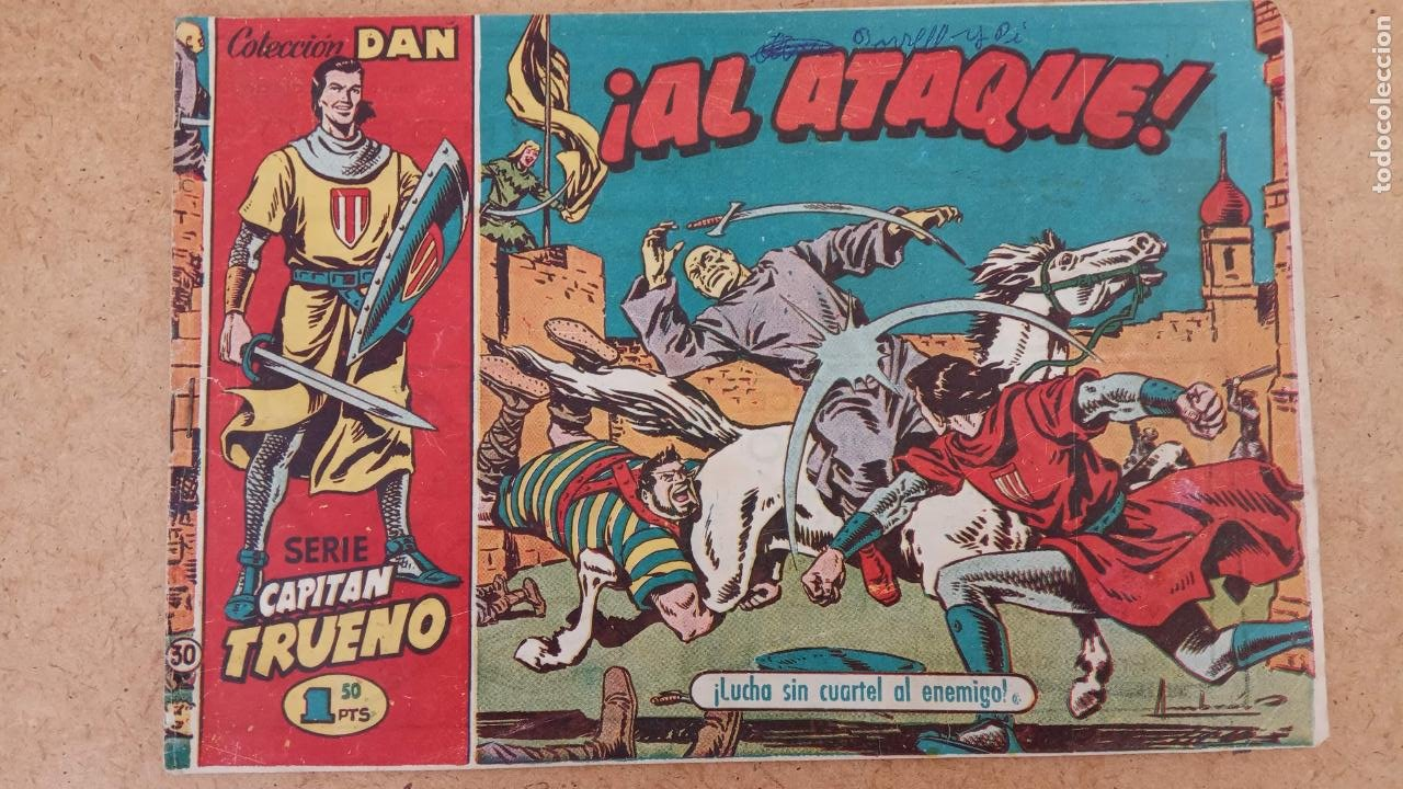 Tebeos: EL CAPITÀN TRUENO ORIGINAL AÑO 1956 COMPLETA Y SUELTA 1 AL 618 - VER TODAS LAS PORTADAS, MUY BUENA - Foto 320 - 204841075
