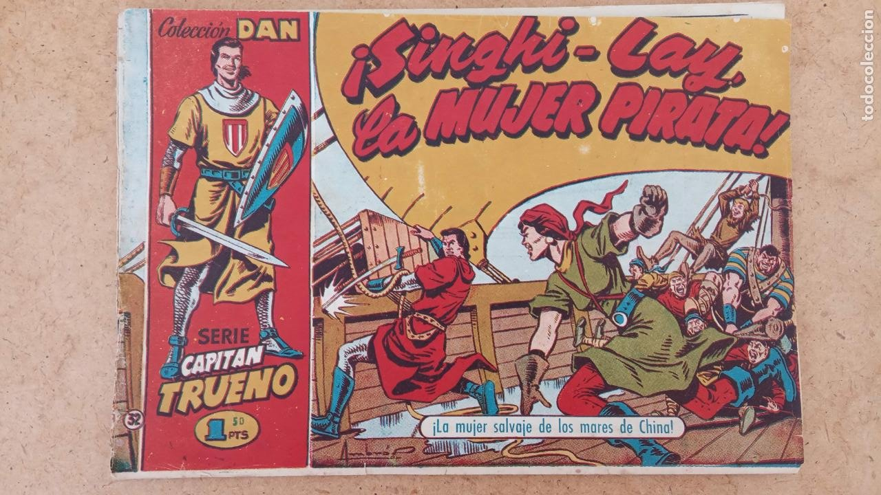 Tebeos: EL CAPITÀN TRUENO ORIGINAL AÑO 1956 COMPLETA Y SUELTA 1 AL 618 - VER TODAS LAS PORTADAS, MUY BUENA - Foto 323 - 204841075