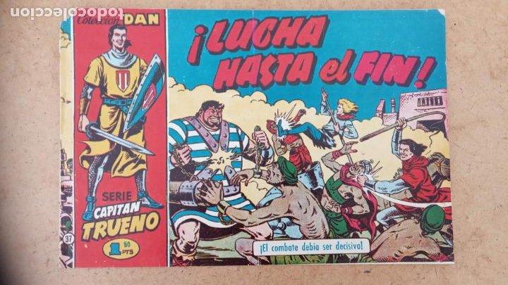 Tebeos: EL CAPITÀN TRUENO ORIGINAL AÑO 1956 COMPLETA Y SUELTA 1 AL 618 - VER TODAS LAS PORTADAS, MUY BUENA - Foto 329 - 204841075