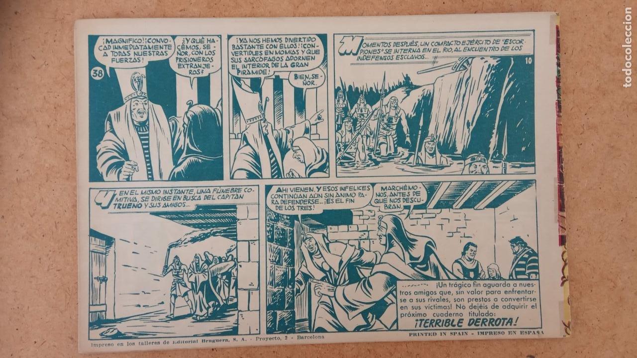 Tebeos: EL CAPITÀN TRUENO ORIGINAL AÑO 1956 COMPLETA Y SUELTA 1 AL 618 - VER TODAS LAS PORTADAS, MUY BUENA - Foto 331 - 204841075