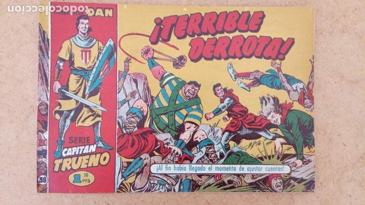 Tebeos: EL CAPITÀN TRUENO ORIGINAL AÑO 1956 COMPLETA Y SUELTA 1 AL 618 - VER TODAS LAS PORTADAS, MUY BUENA - Foto 332 - 204841075